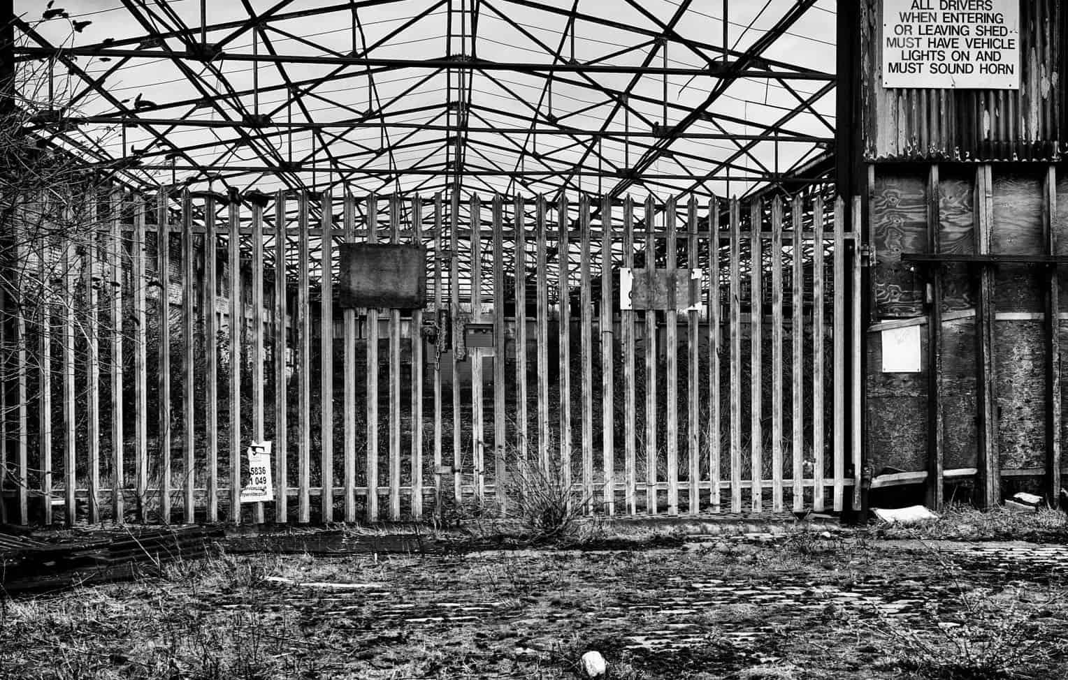 Ворота из металла на промышленном производстве