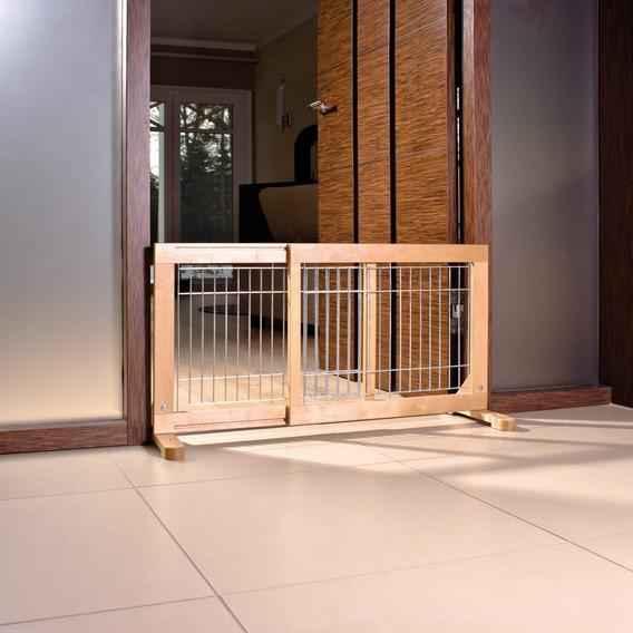 Загородка в дверь для небольших собак
