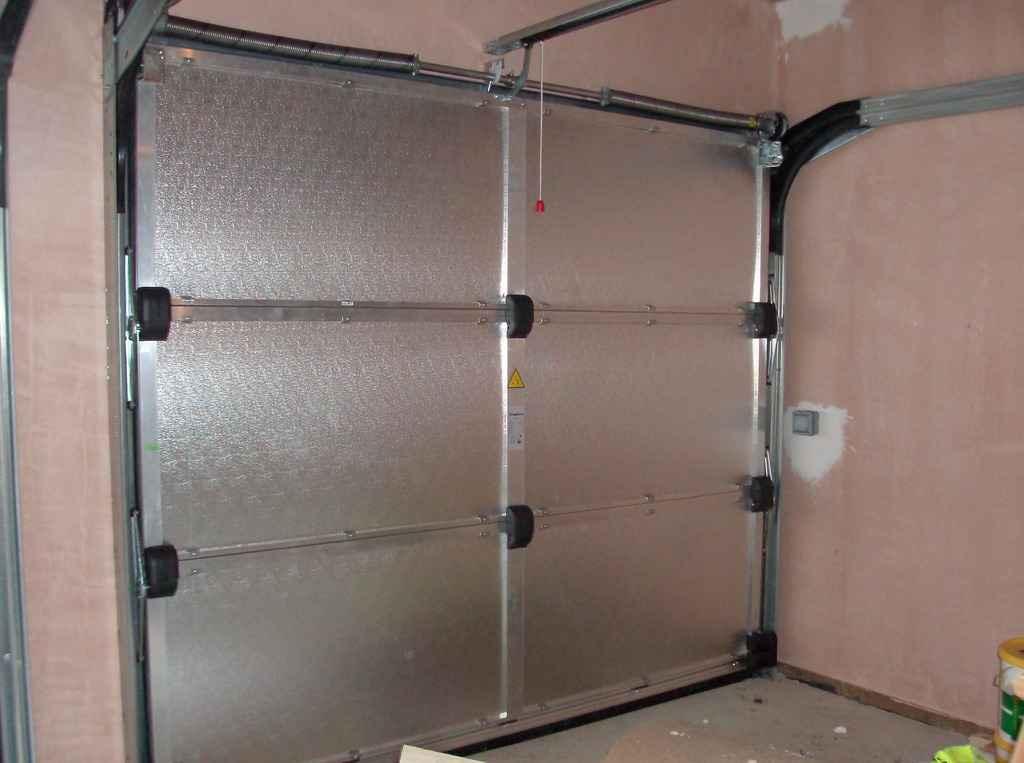 Схема установки автоматических ворот