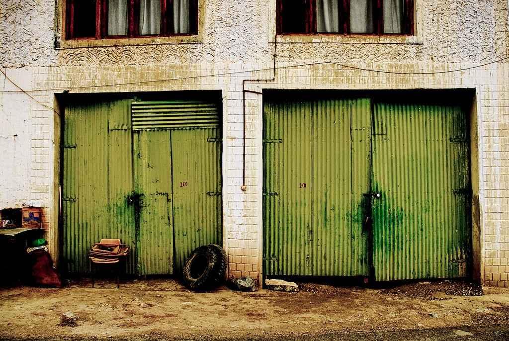 Провисание гаражных ворот