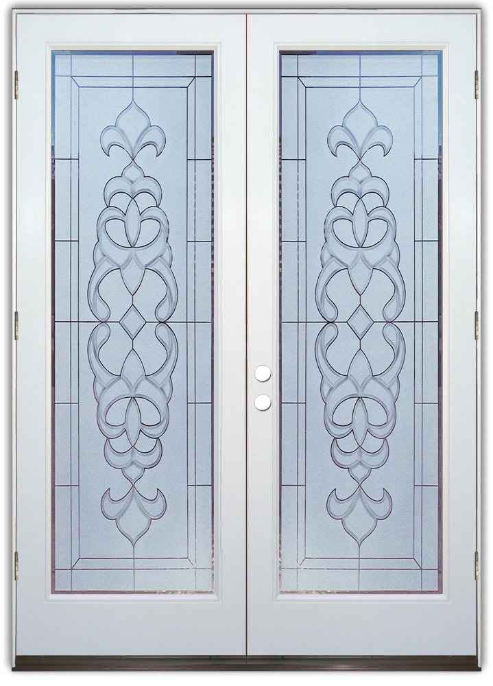 Как заменить межкомнатное стекло в дверях своими руками