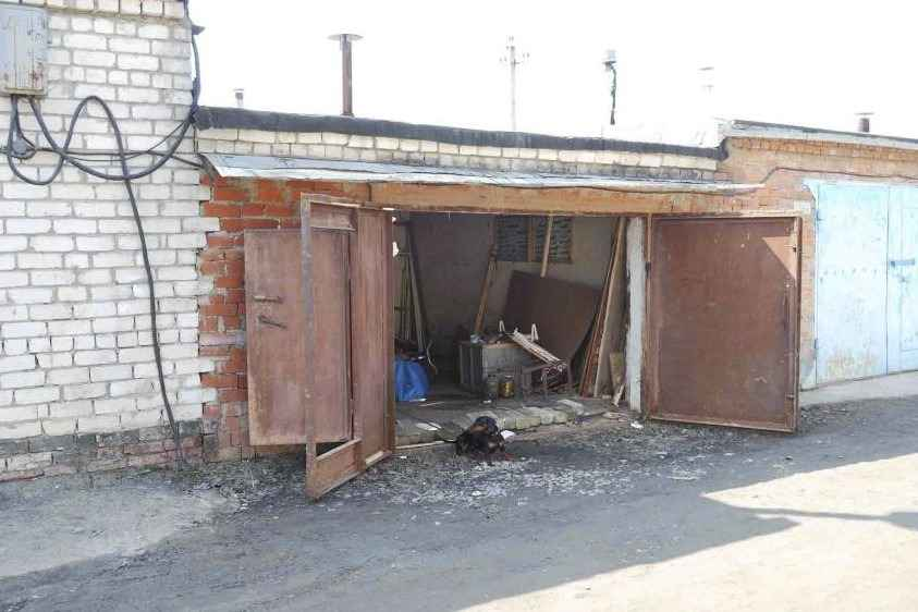 Типовой гараж в России