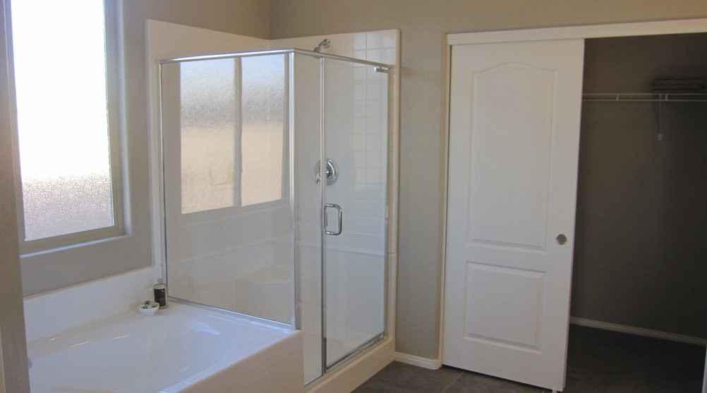 Ванная комната | Стеклянная дверь