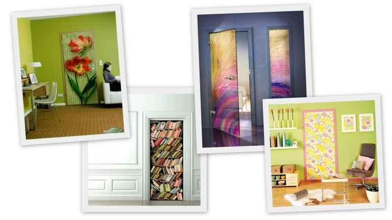 Декорирование межкомнатных дверей