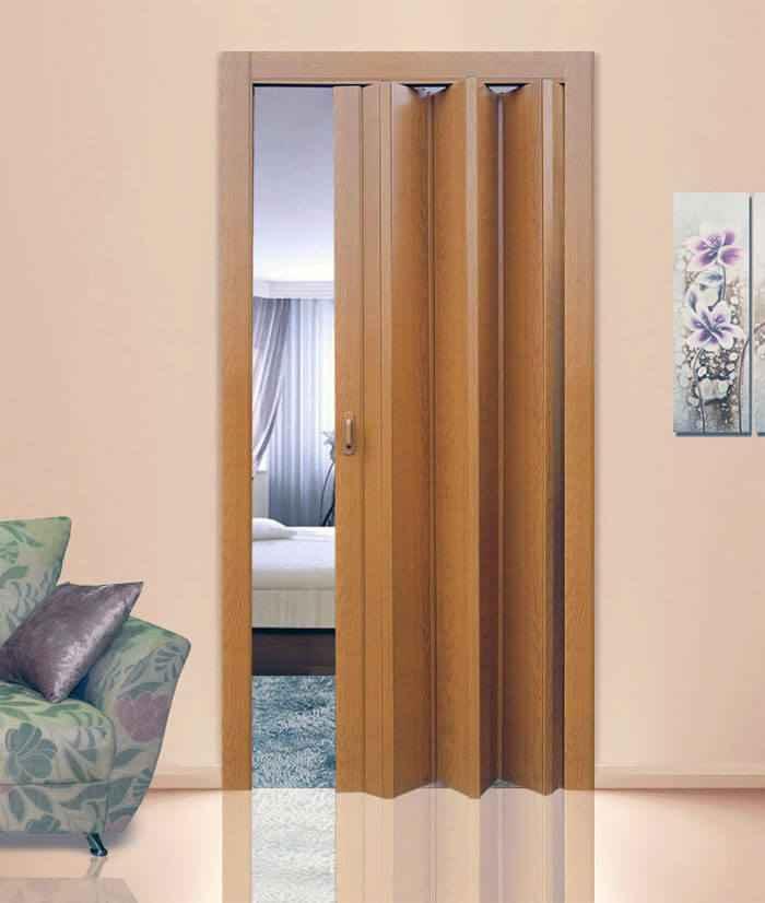 Дверь-гармошку межкомнатная