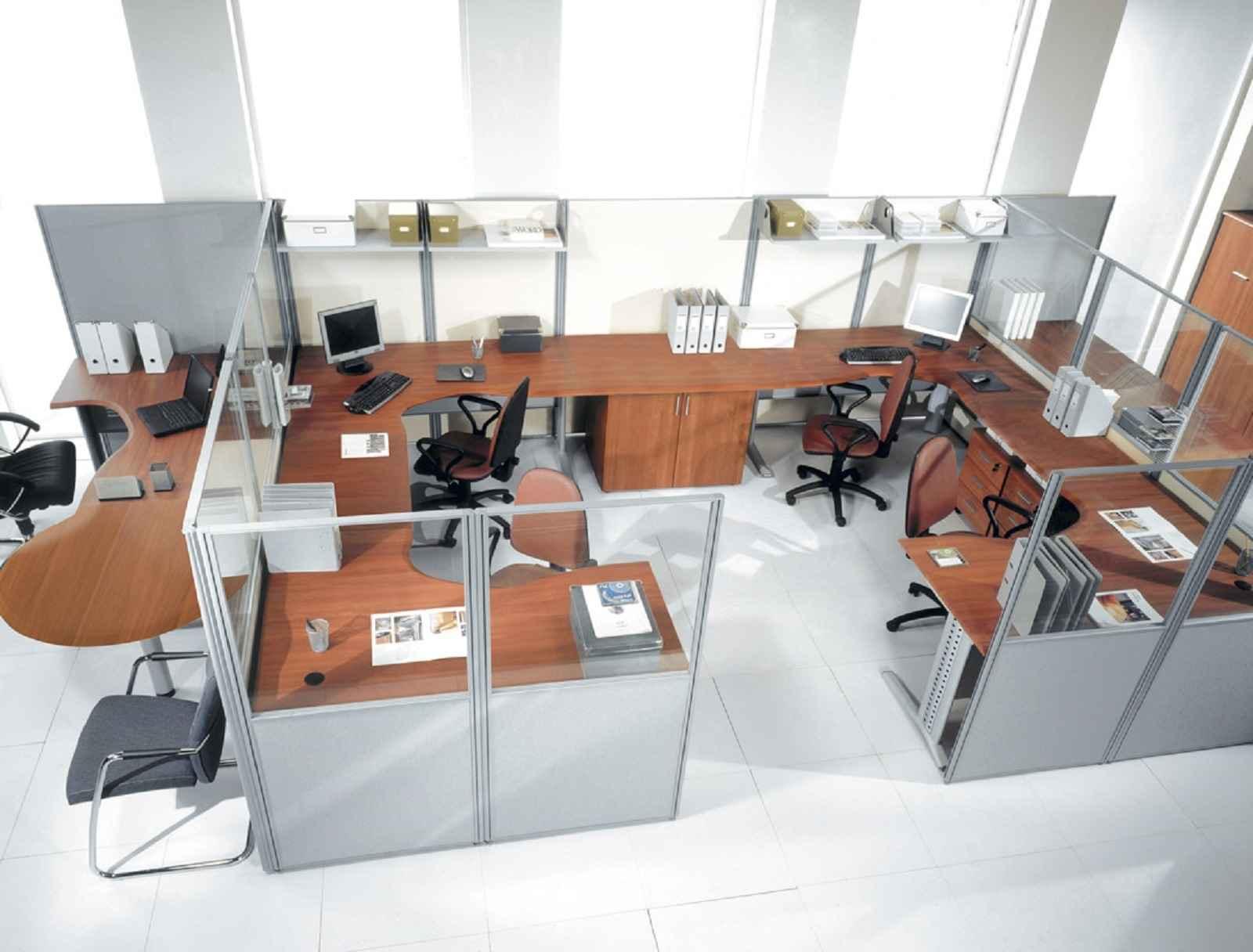 Перегородки офисного типа