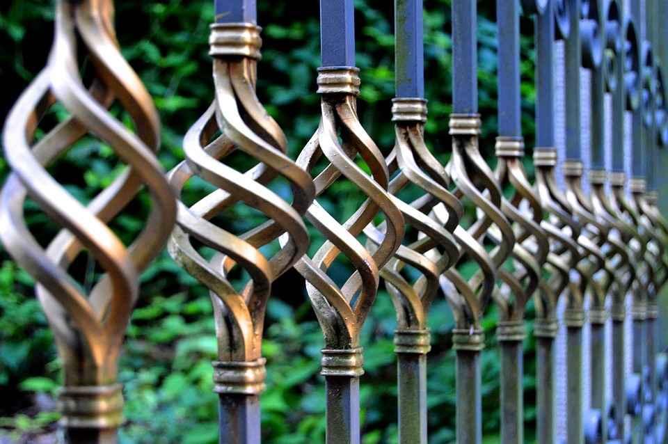 Железные дорогие ворота
