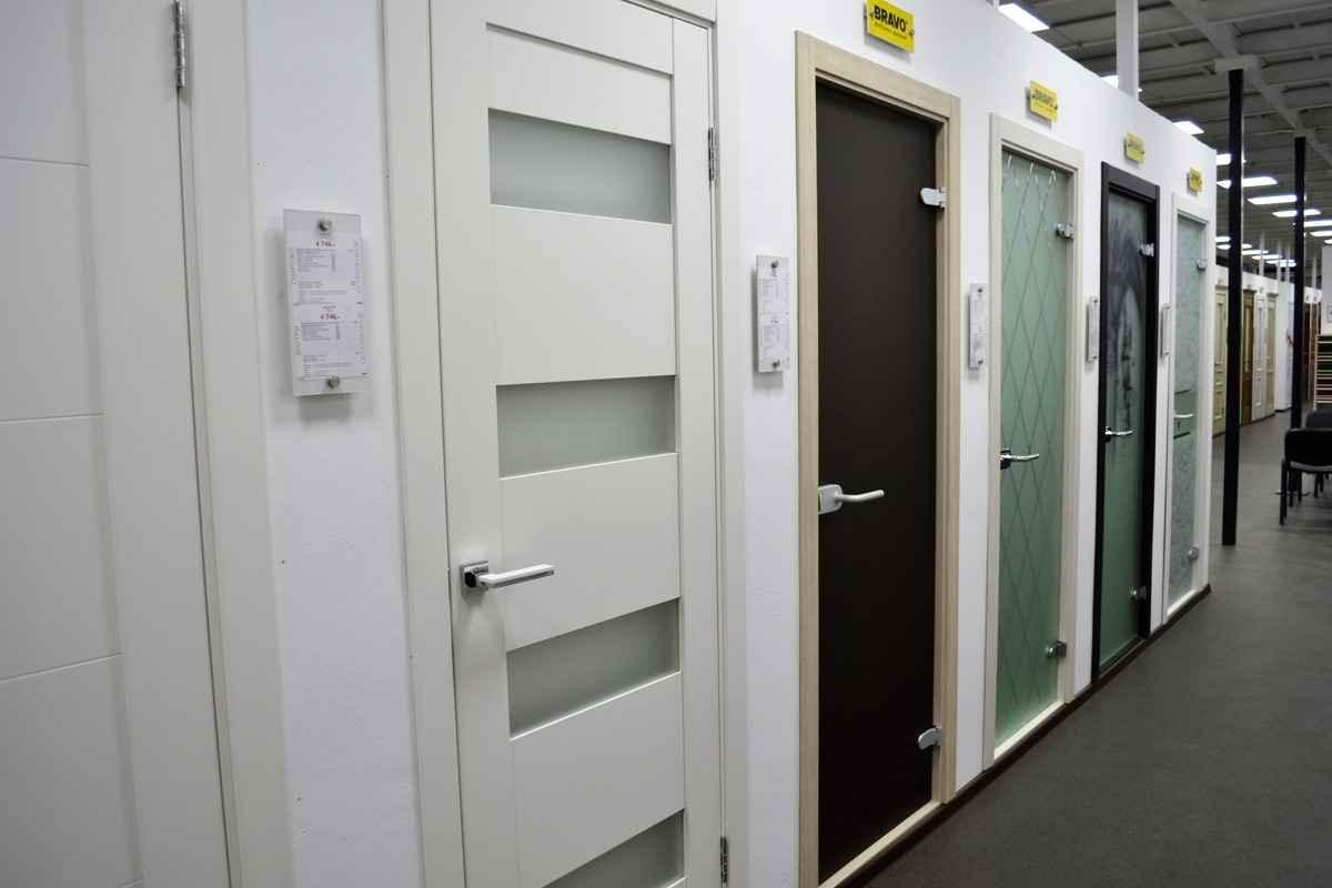 Межкомнатные двери темно-коричневых оттенков