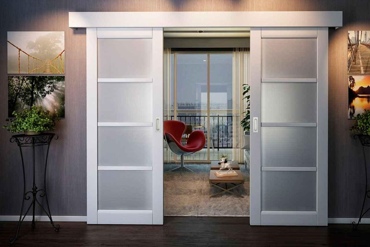 Межкомнатная дверь типа купе