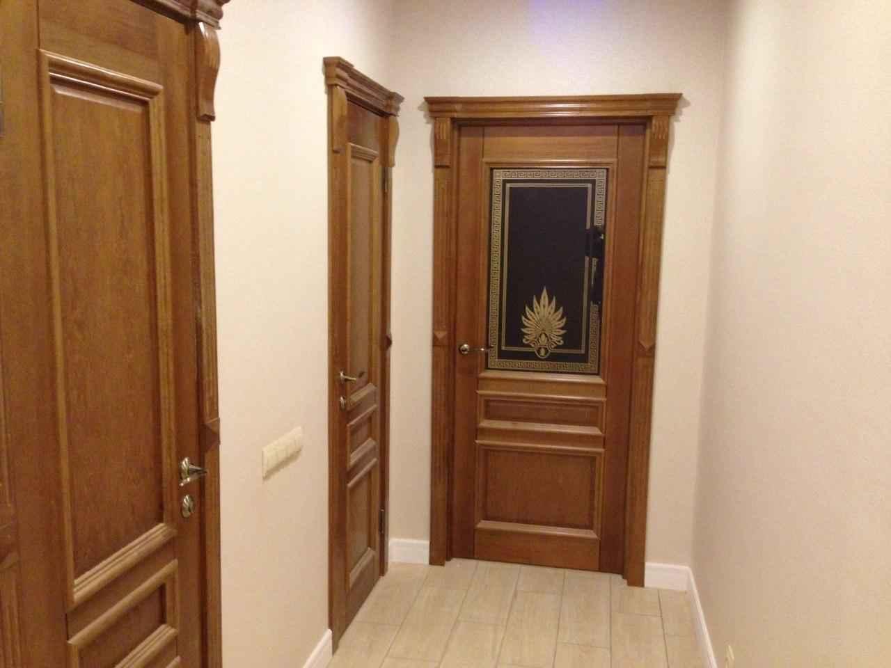 Элитные двери из массива ольхи, дуба, ясеня - Двери из