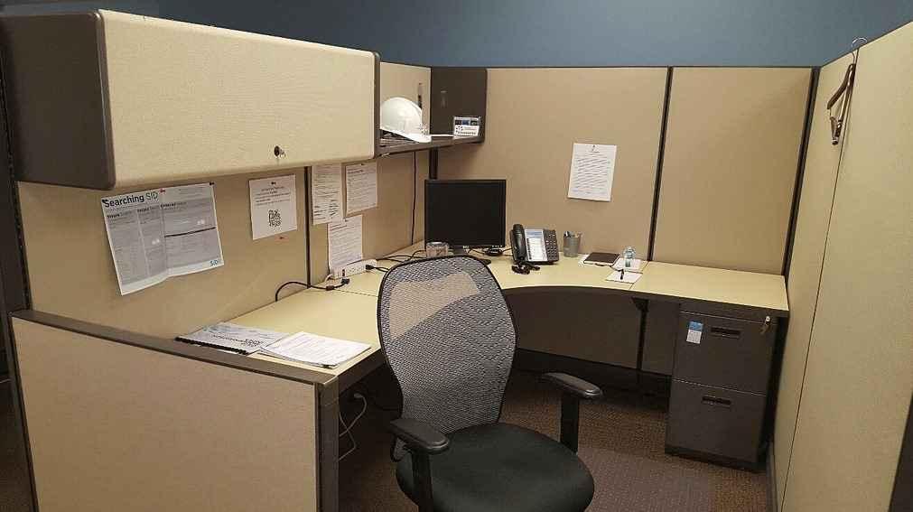 Перегородка в офисе