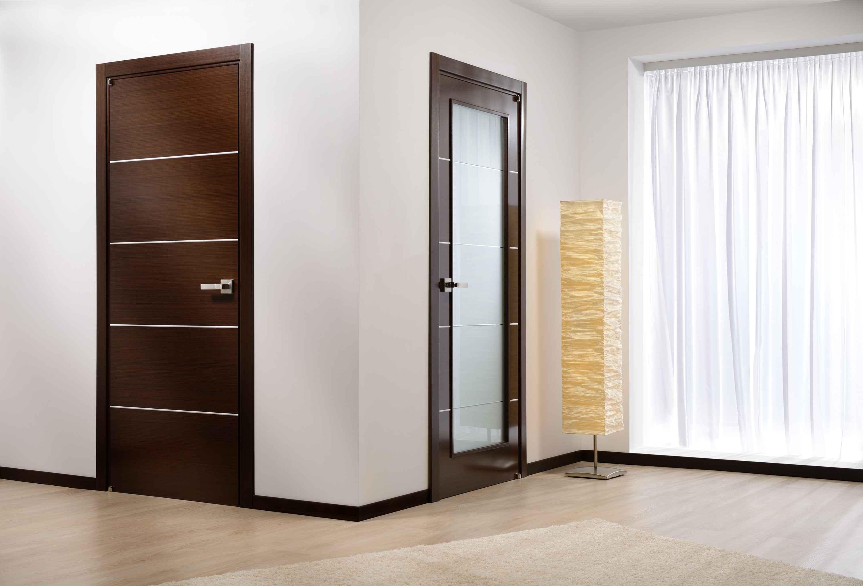 Сочетание дверей в интерьере с мебелью