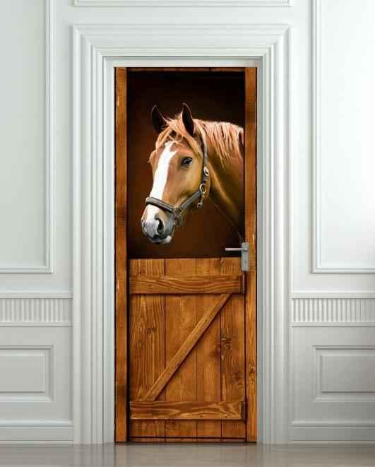 Пример двери с пленкой