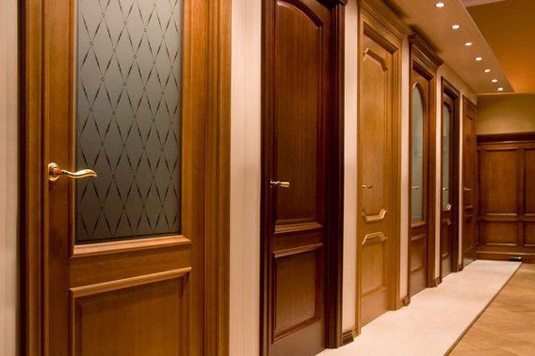 Недорогие шпонированные межкомнатные двери