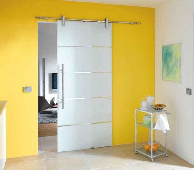 Раздвижные двери для ванной/туалета