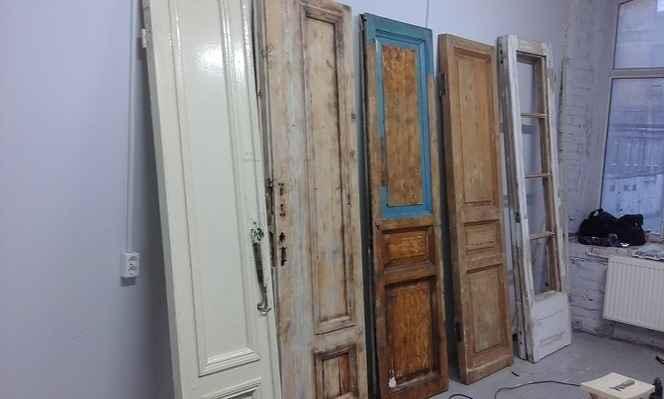 Ремонт старых дверей