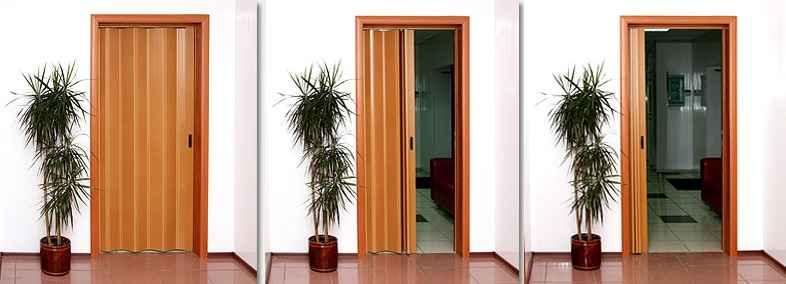 Раздвижные двери гармошки