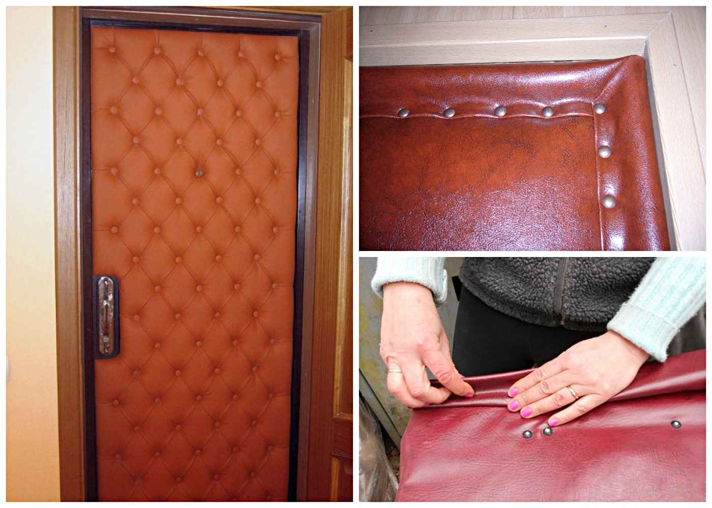 Снятие обшивки дверей