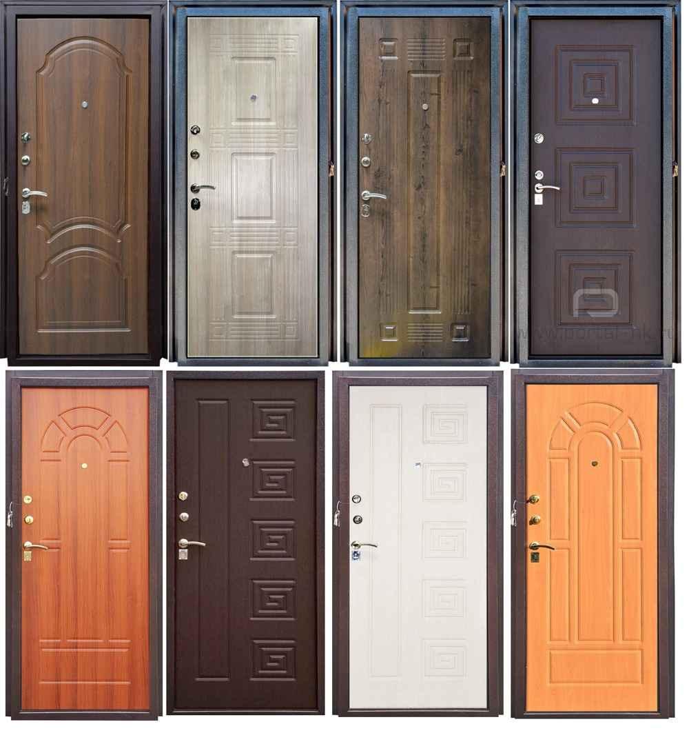 Обзор входных дверей из МДФ