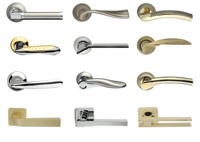 Дверные ручки - основной и неотъемлемый элемент управления входной дверью