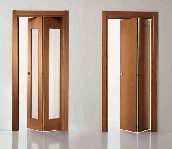Межкомнатные двери из двух половинок