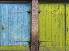 Тип дверей под покраску: скрываем либо выделяем элемент интерьера
