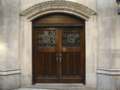 Входная дверь, размеры деревянной входной двери с коробкой