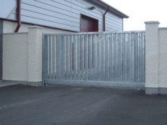 Все о сдвижных воротах — все положительные и отрицательные качества