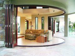Радиусные межкомнатные двери: нестандартные очертания интерьера