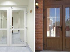 Какие лучше выбрать двери: ПВХ либо ламинированные