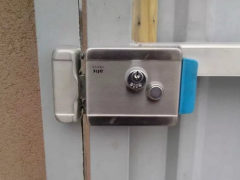 Электромеханический замок для ворот и калитки: разновидности и устройство