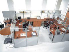 Перегородки офисного типа: практичное подразделение пространства