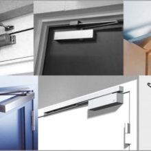 Доводчики для входных дверей — виды и технические характеристики устройств