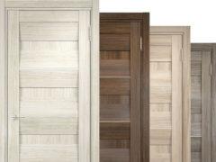 Межкомнатные двери экошпон — плюсы и минусы в фото