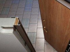 Способы отделки металлических дверей изнутри и снаружи