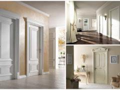 Применение классических дверей для дизайна интерьера