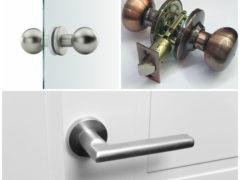 Как снять дверную ручку с межкомнатных или входных дверей
