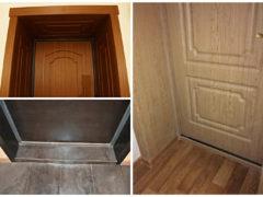 Доборы для входных дверей: функциональное решение для подгонки двери к проемам