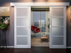 Двери типа «купе»: креатив либо функциональная конструкция в помещении