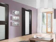 Межкомнатные варианты дверей — эстетическое дополнение интерьера