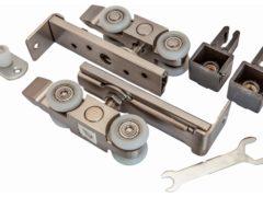 Направляющие, ролики, системы для раздвижных дверей: выбор и оценка фурнитуры