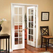Межкомнатные двери с остеклением – дизайнерское решение осветления помещений