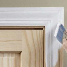 Покраска межкомнатных дверей: подбор краски, подготовка поверхности и процесс