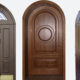 Входные и арочные межкомнатные двери: необычное решение дверного прохода