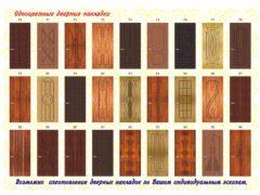 Накладки на входные и межкомнатные двери: эстетика и дополнительные звуко- и теплоизоляционные свойства входной двери