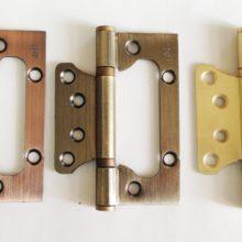 Ввертные универсальные петли для дверей бабочка и их аналоги