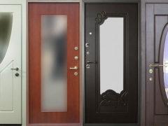 Металлические входные двери с зеркальной вставкой: надежная защита и стильный дизайн