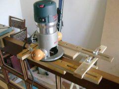 Выполнение установки петель при помощи фрезера
