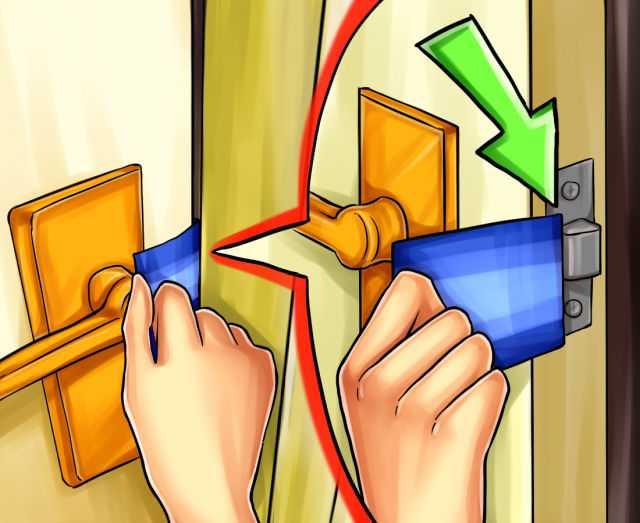 что делать если захлопнулась дверь в квартире