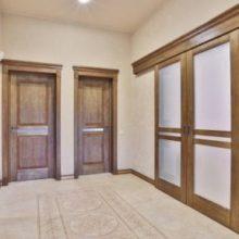 Роль межкомнатных дверей в интерьере и их стили